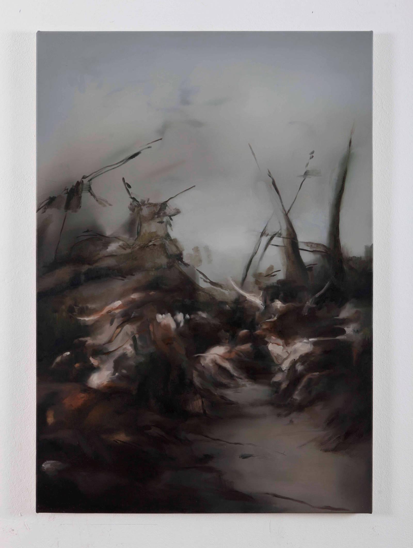 11. NPM, battaglia, 2015, olio su tela, 100x70cm