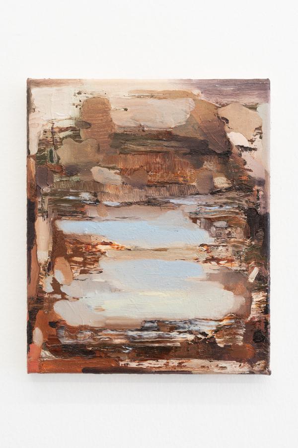 12. Nazzarena Poli Maramotti, Tramonto, oil on canvas, 25x30cm, 2018_low