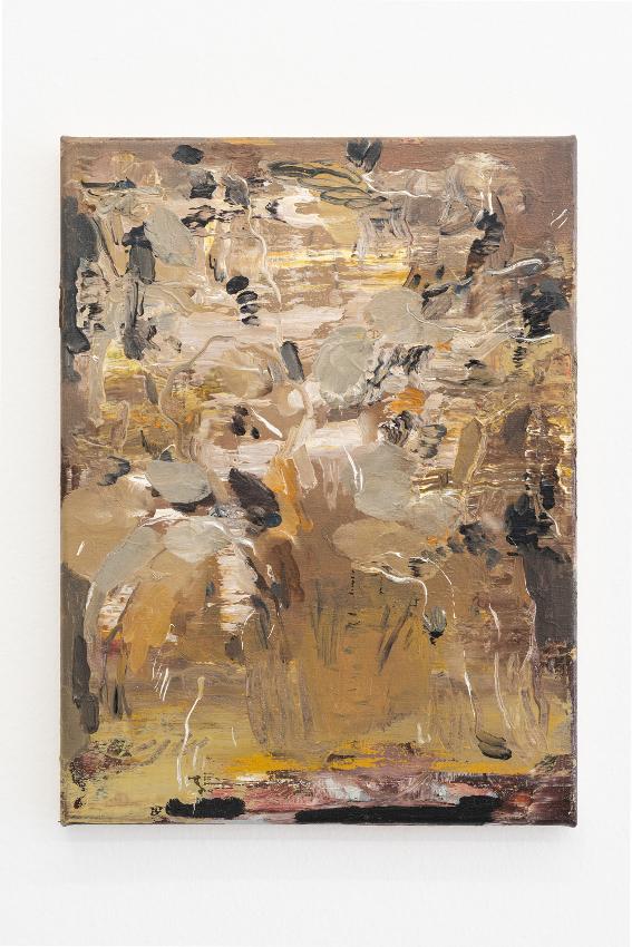 15. Nazzarena Poli Maramotti, Gelber Lumenstrauss, oil on canvas, 3
