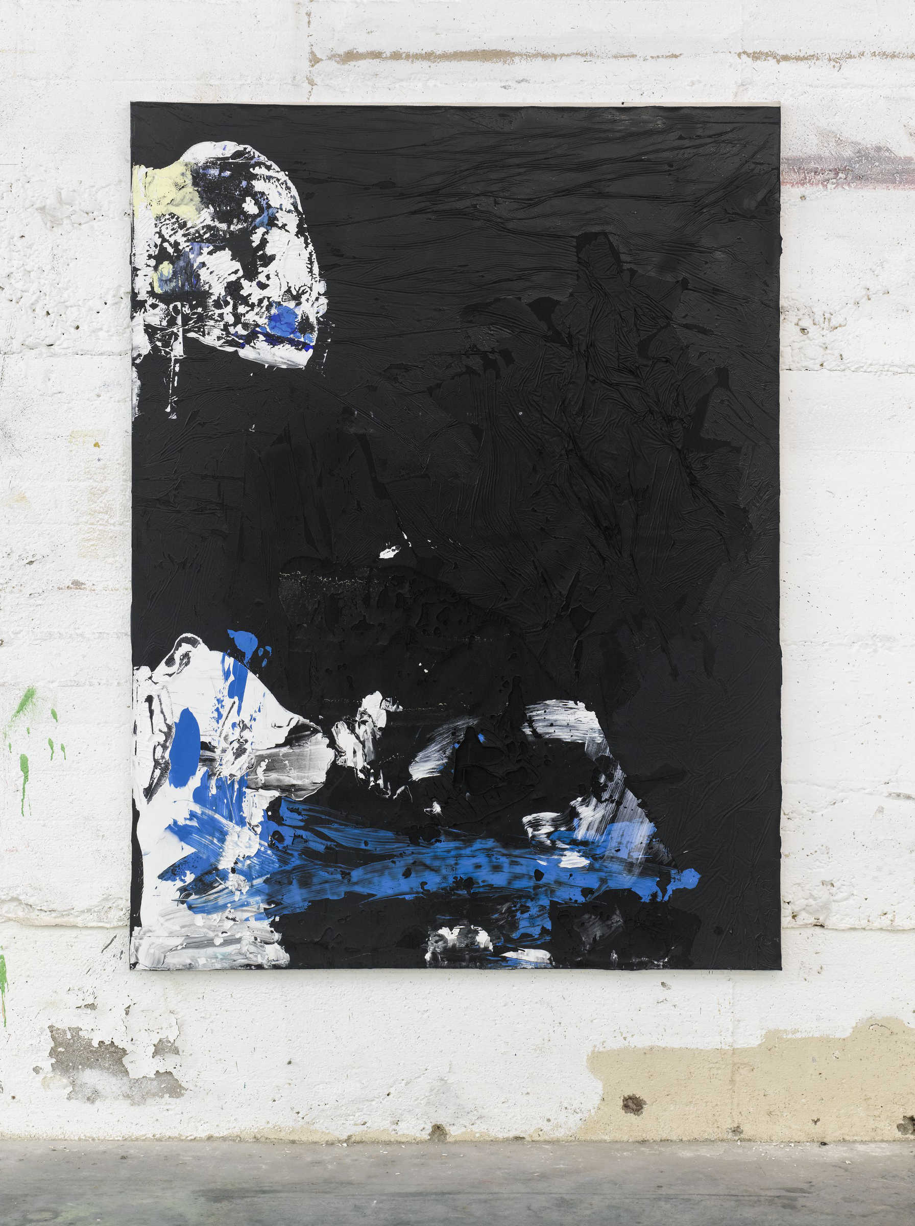 16_Tiziano Martini, 2015, untitled, acrylic paint and acrylic sediments  on cotton, cm 160x120, photo Dejna Saric