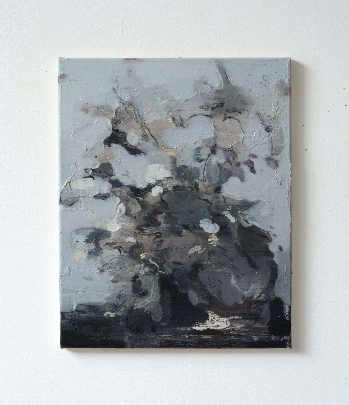 19. Nazzarena Poli Maramotti, oil on canvas, 40x50cm, 2018