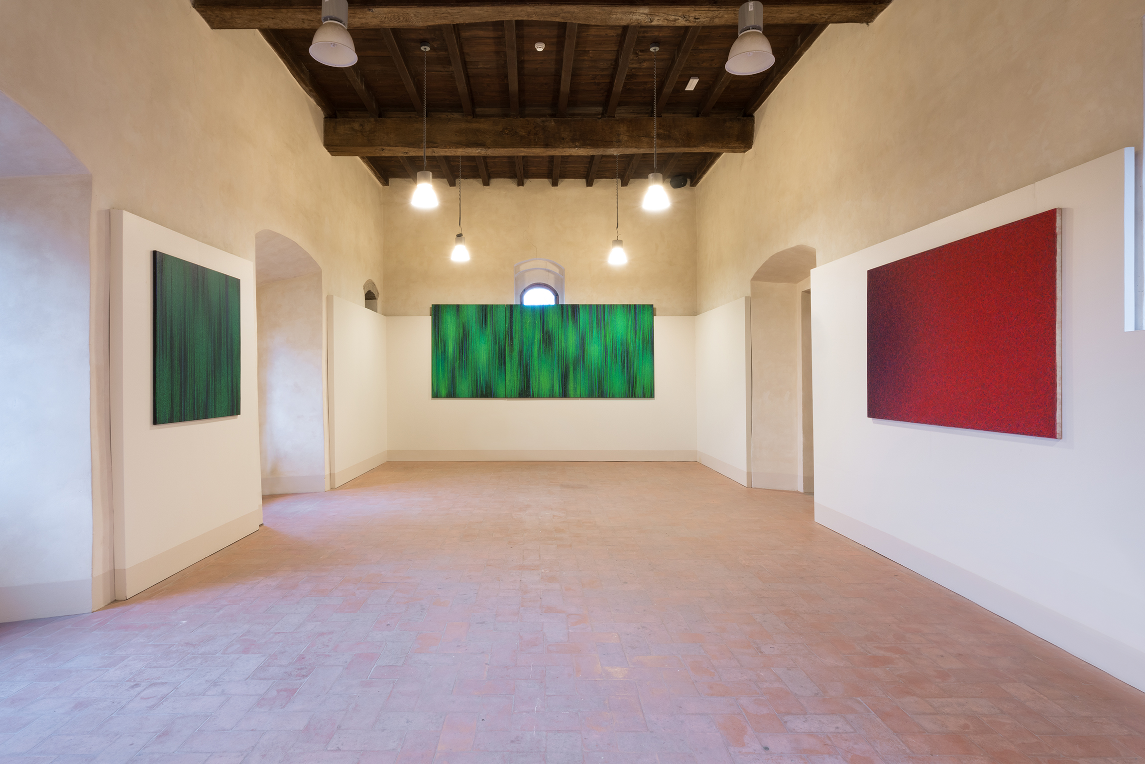 2. Luca Macauda - Ciane - vista della mostra - 2018
