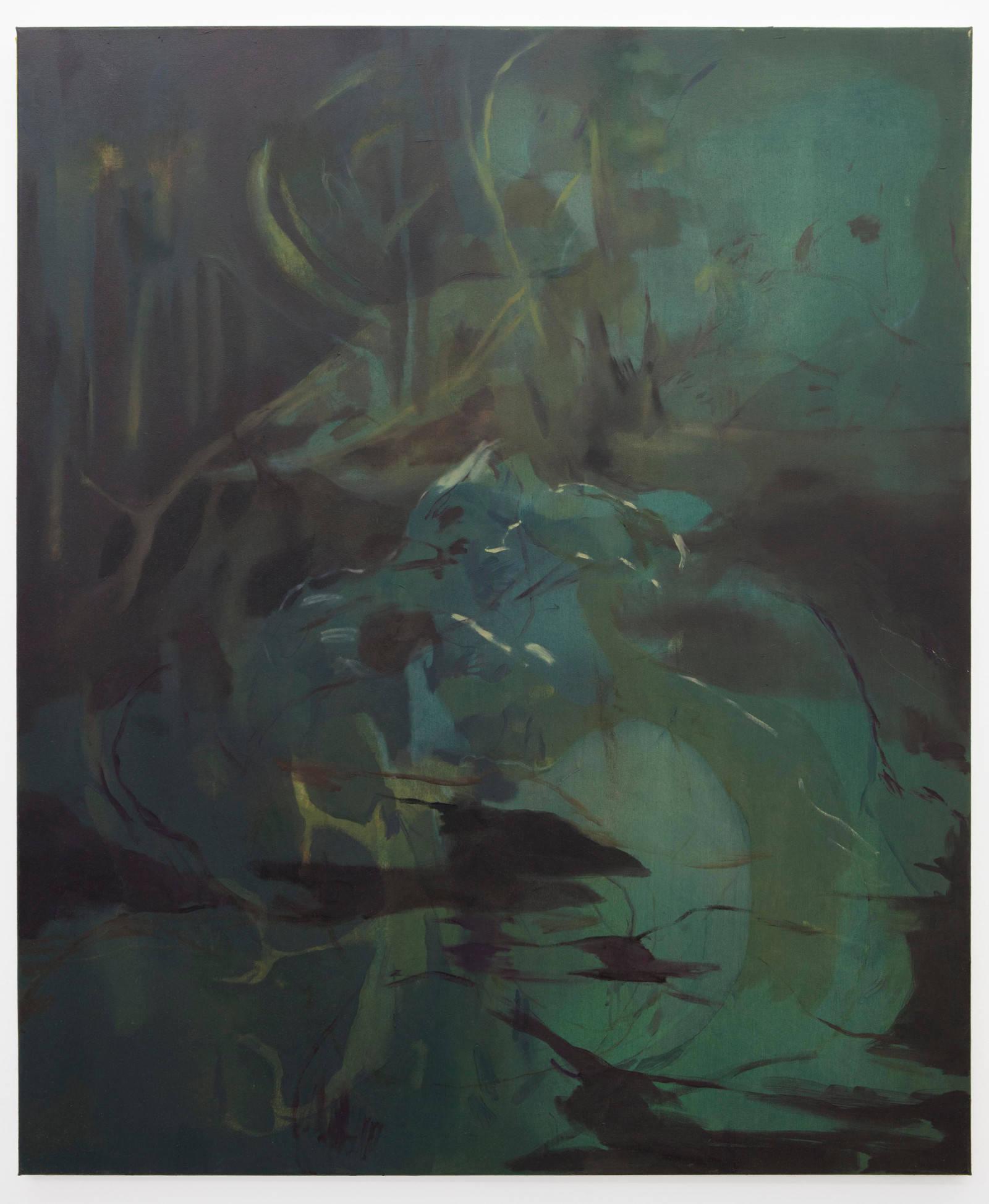 2. Nazzarena Poli Maramotti, Untitled, 2015, olio su tela, 120x100cm