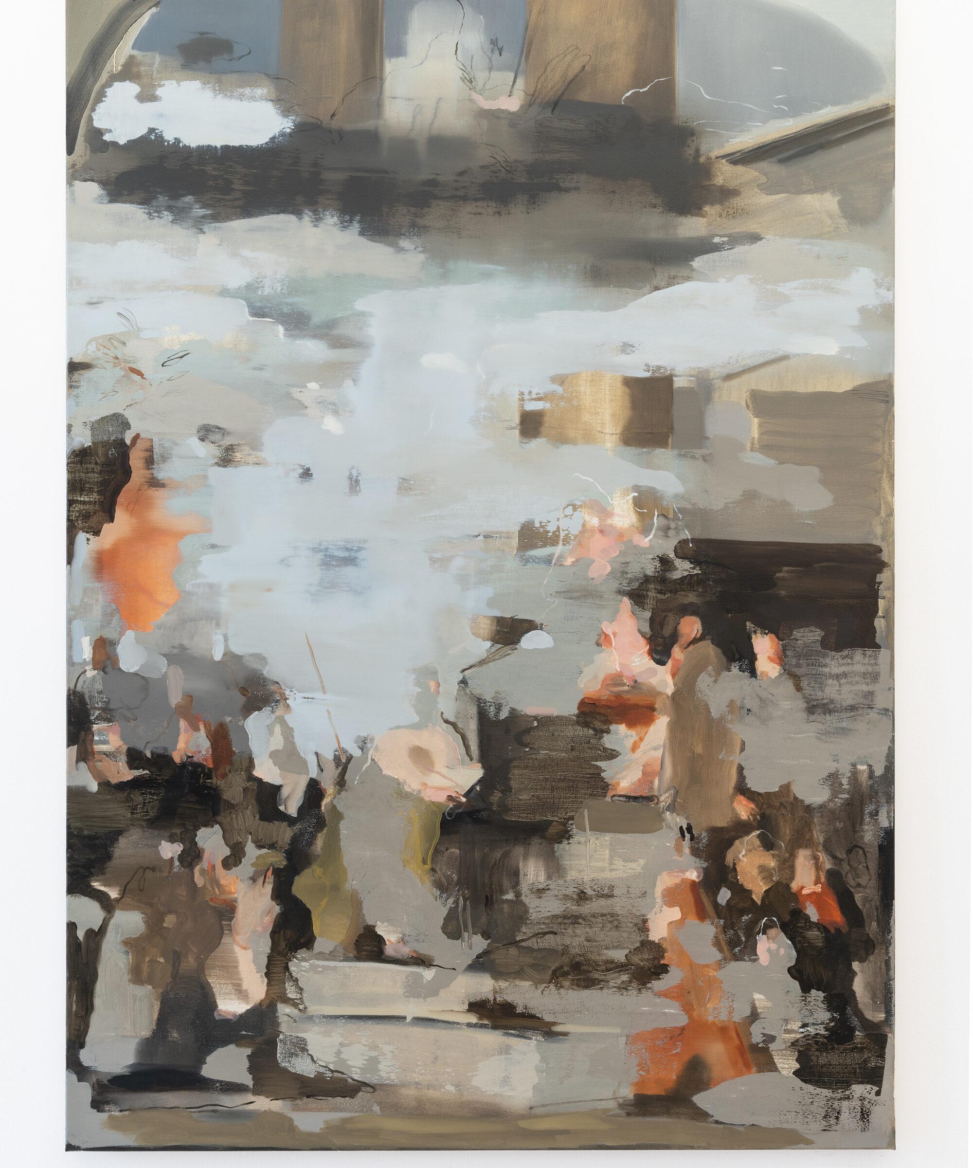 20. Nazzarena Poli Maramotti, Tiziano, Pala Pesaro, oil on canvas, 175x125cm