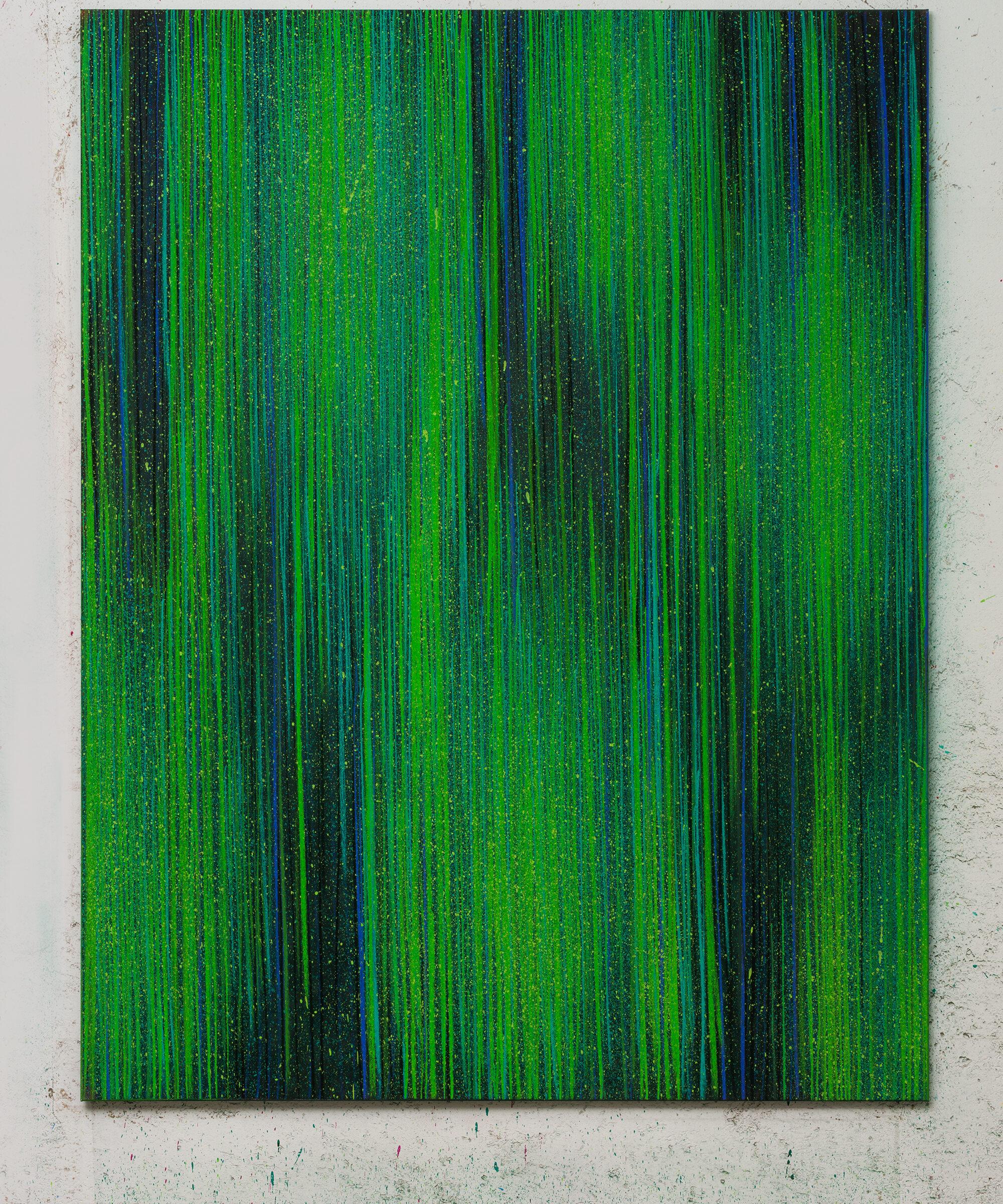 3. LM, Untitled 1, 2018, pastello e acrilico su tela, 2018