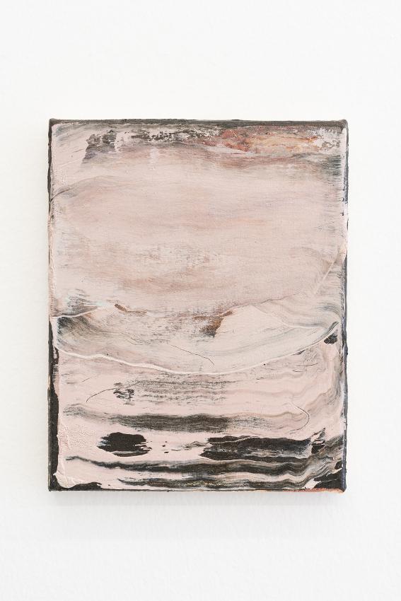 7. Nazzarena Poli Maramotti, (ROSA) Sturm, mixed media on canvas, 25x20cm, 2018_low