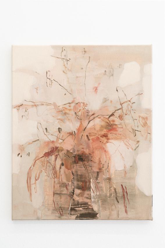 8. Nazzarena Poli Maramotti, Vaso, mixed media on canvas, 50x40cm, 2018_low