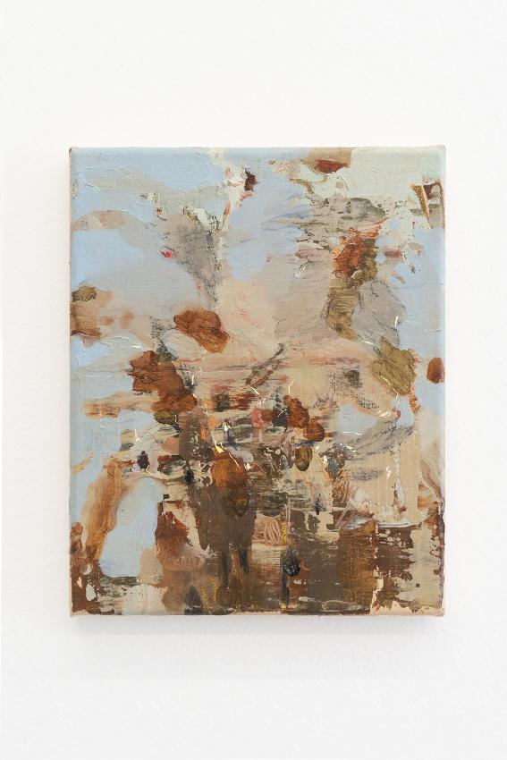 9. Nazzarena Poli Maramotti, Kleiner Blumenstrauss, mixed media on canvas, 25x20cm, 2018_low