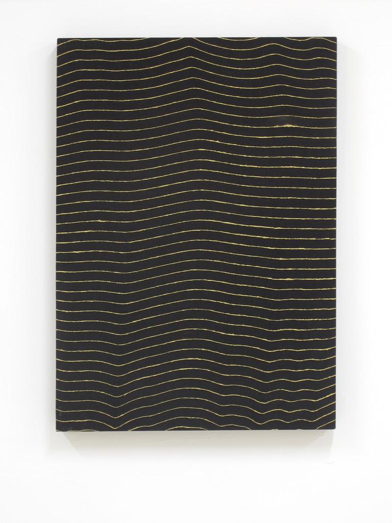 Davide Mancini Zanchi, Untitled #2, 2016, Acrilico su tovaglia, 120x90cm