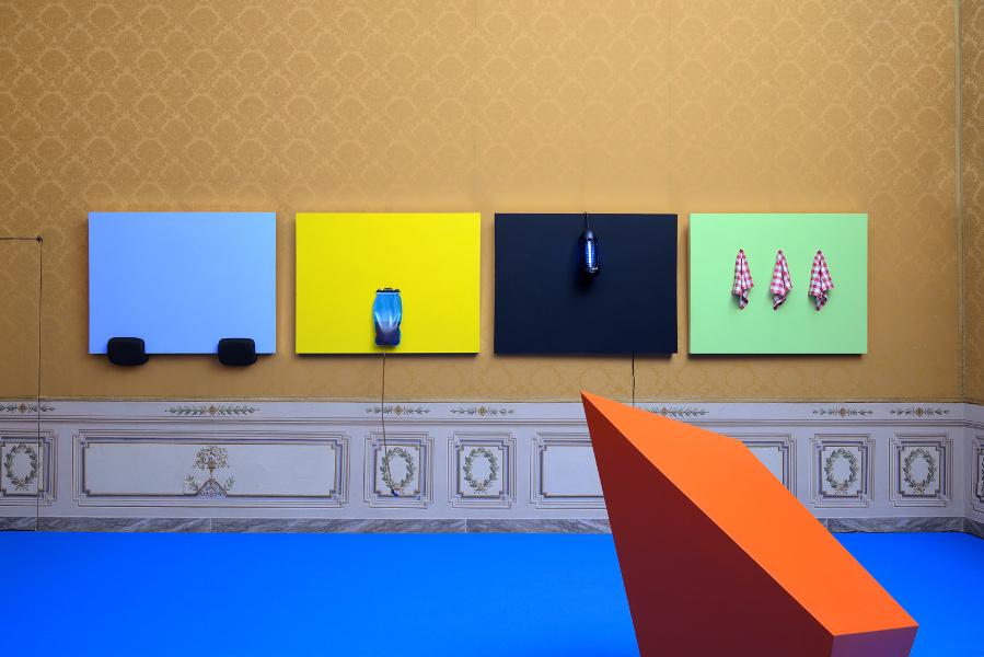 Davide Mancini Zanchi, senza titolo per... exhibition view at museo fattori livorno