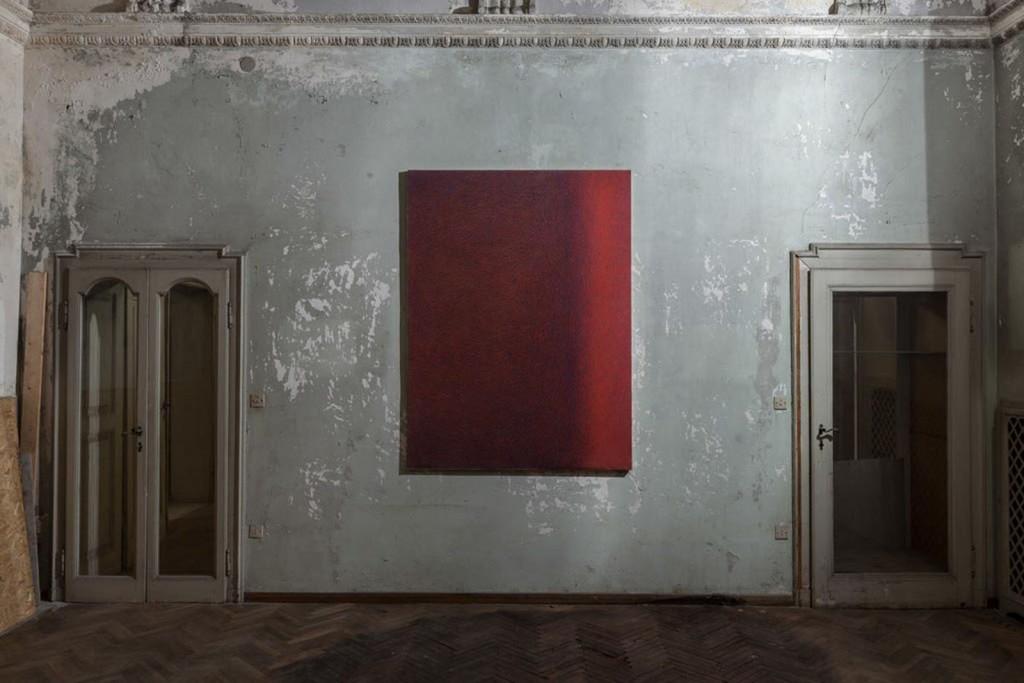 Luca Macauda, untitled, pastello morbido su carta, 182x136cm 2013