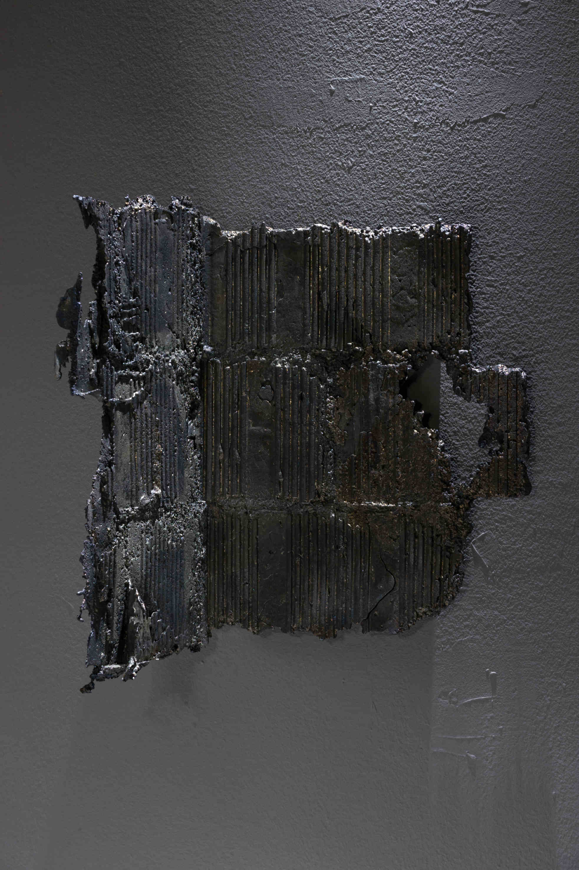 Marco La Rosa - Untitled_Apoteosi - piombo 38x24x30cm