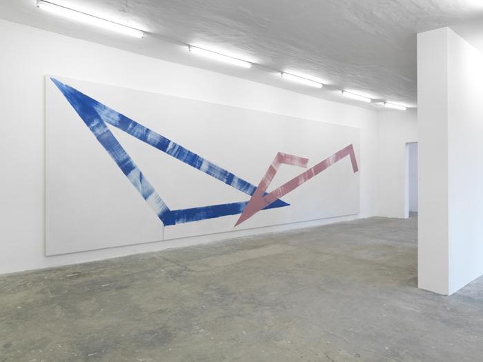 Max Frintrop, installation view @ Parkhaus, Dusseldorf.