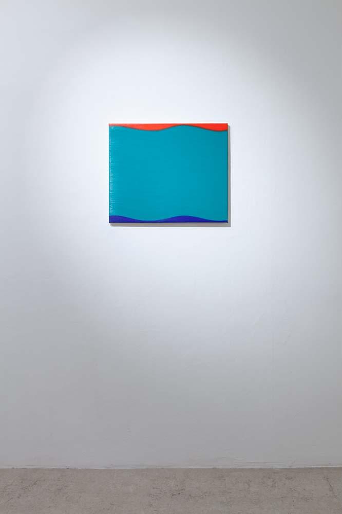 Osamu Kobayashi, Distance Sister, oil on canvas, 40x60cm 2012