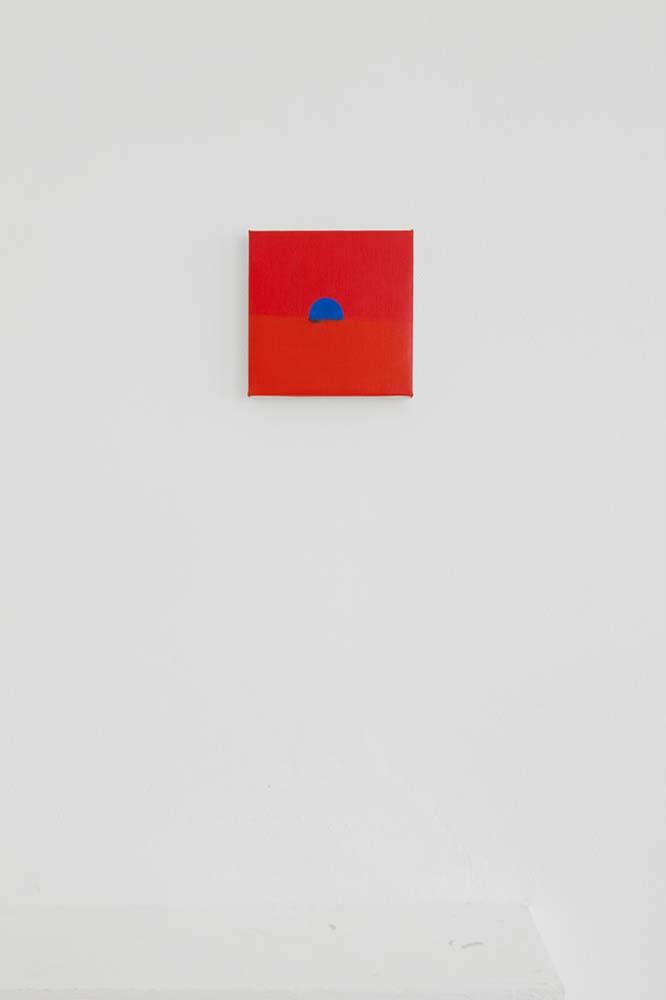 Osamu Kobayashi, untitled, oil on linen, 20x20cm