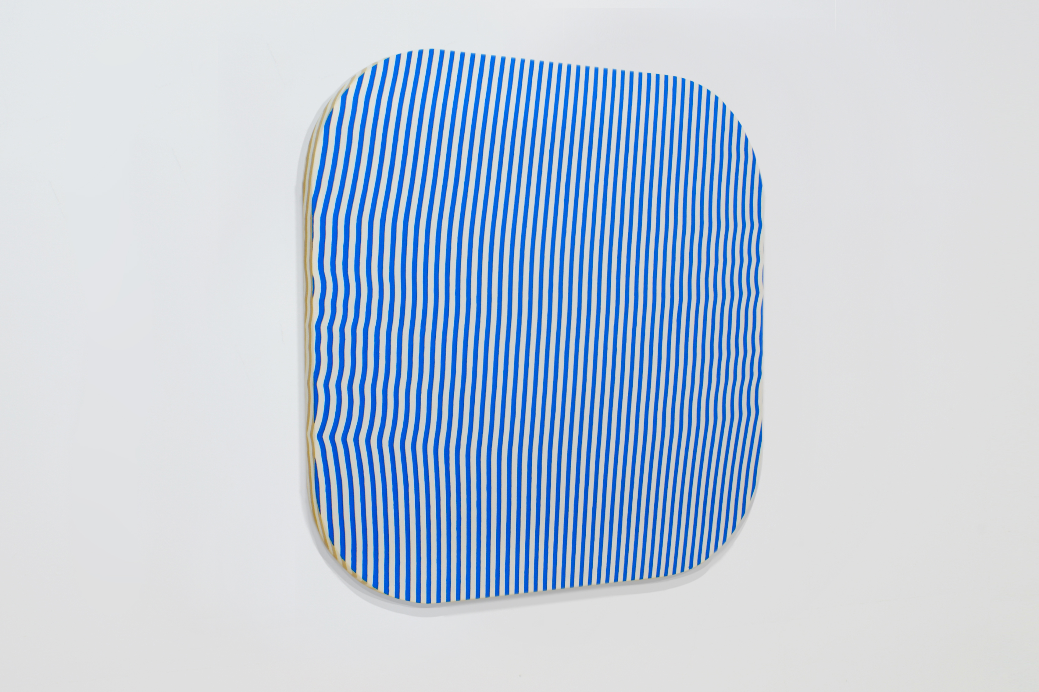 Davide Mancini Zanchi, Table Cloth WB-B, Acrylic on Table Cloth, 165x165cm, 2017
