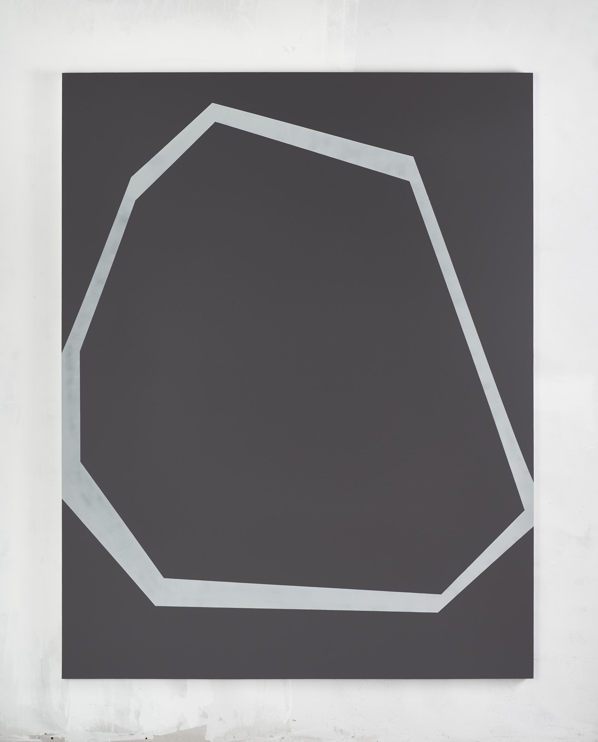 Michele Lombardelli, senza titolo, 2018, tempera su lino, 180x140cm