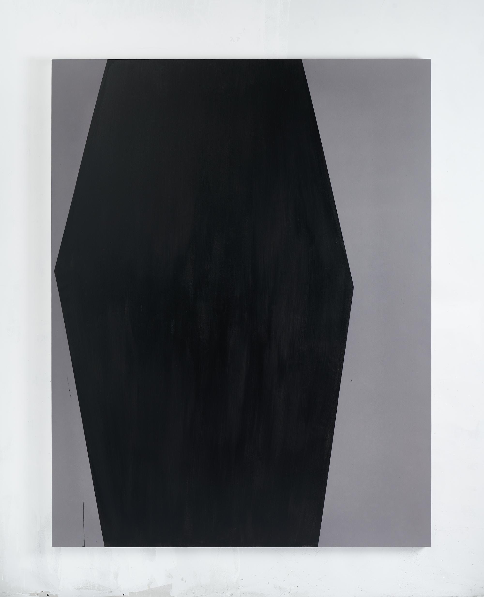 2. Michele Lombardelli, senza titolo, 2018, tempera su lino, 180x140cm