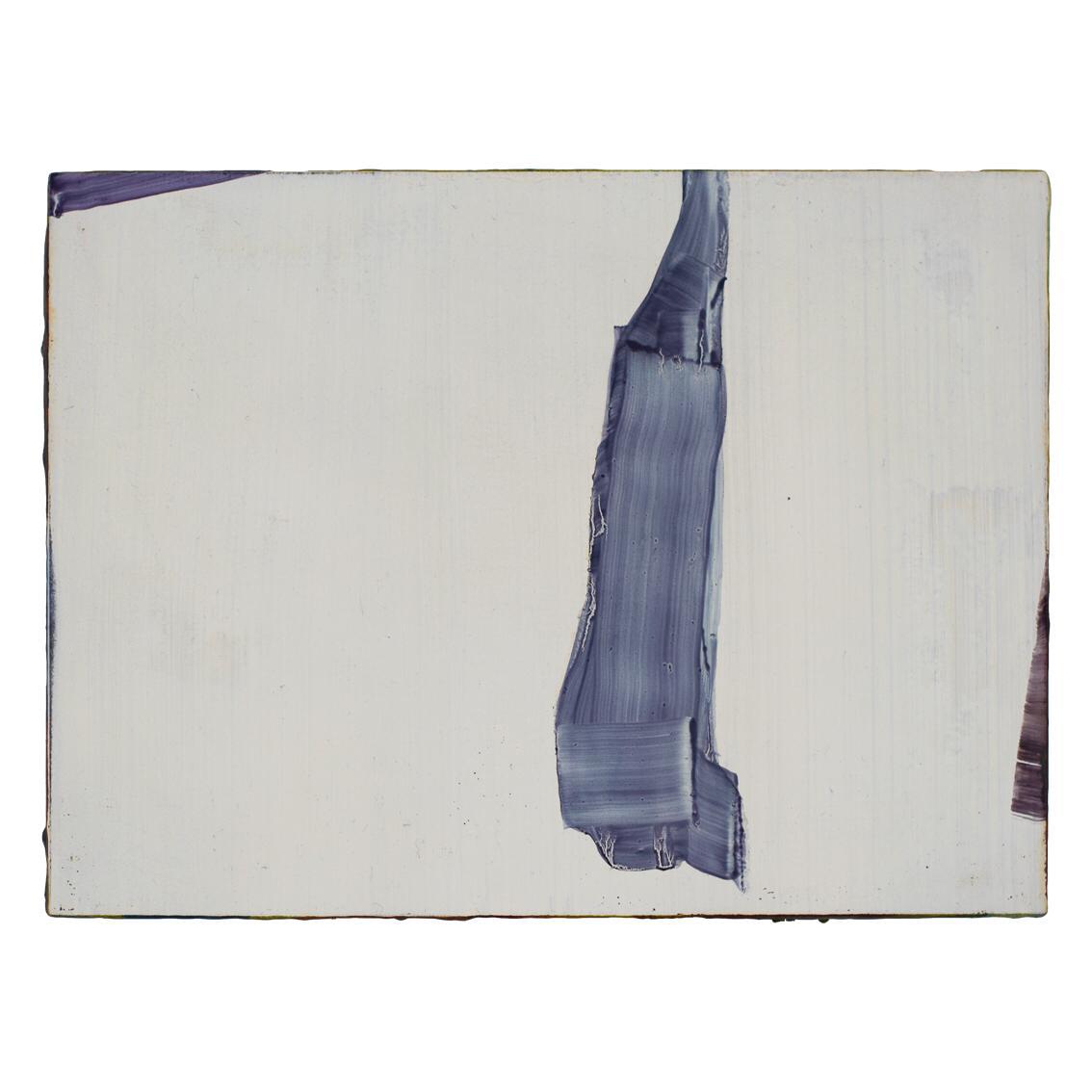 6. Markus Saile untitled_white 2019 olio su tavola 16x23cm
